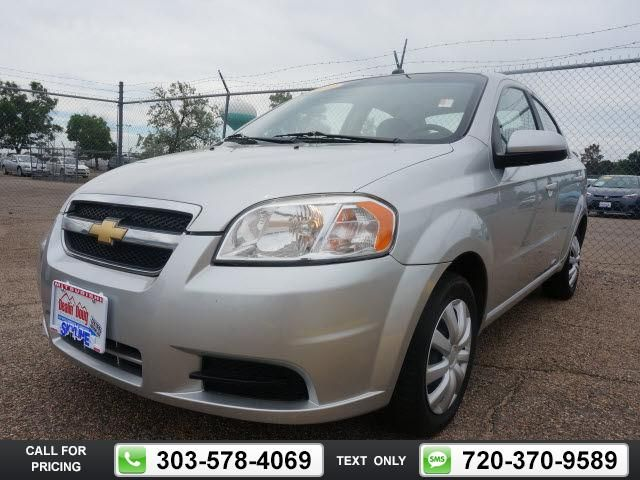 2011 Chevrolet Chevy Aveo Lt Silver 84k Miles 8 988 84947 Miles