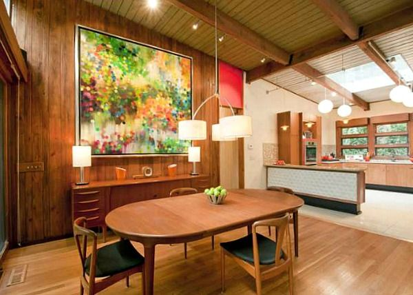 A NatureLovers MidCentury Modern Ranch in Atlanta Modern ranch