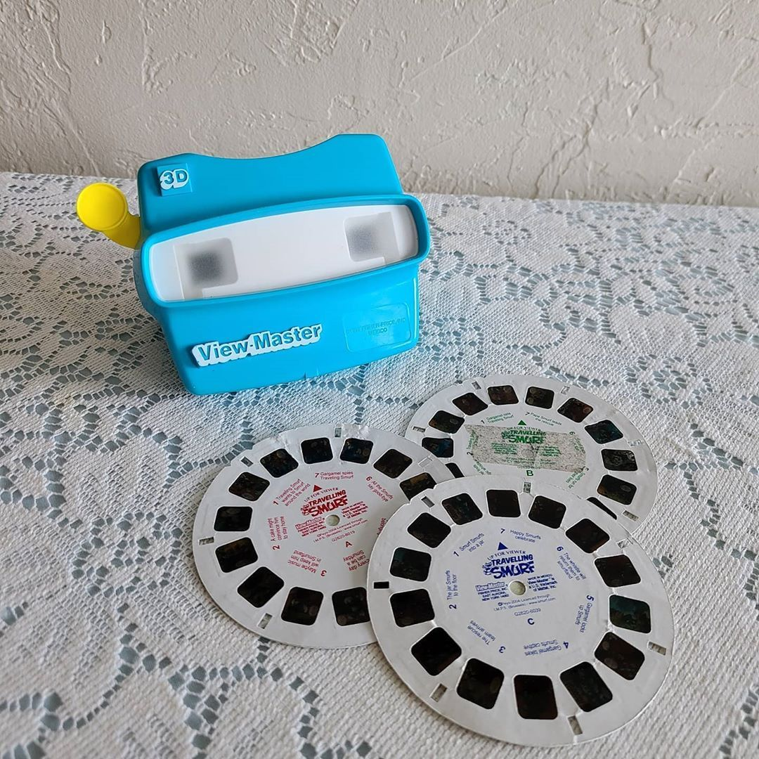 Excited to share the latest addition to my #etsy shop: Vintage View Master includes (3) Smurf Reels #viewmaster #smurfs #blue #vintage #toys #90s #favoritefindz