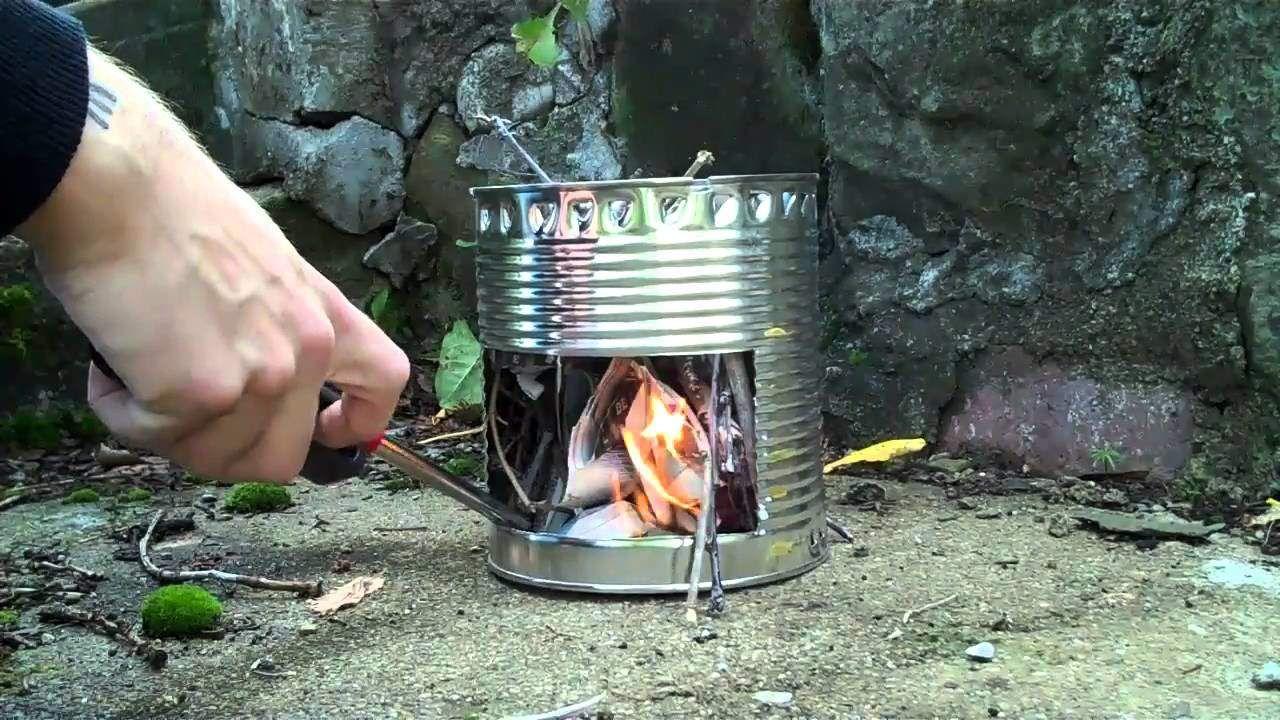 Hobo Stove - 10 Alternative Methods Of Cooking During SHTF