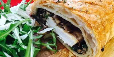 Chicken Wellington with Mushrooms and Blue Cheese | Moy Park Chicken