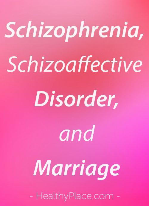 Im paranoid schizophrenic great marriage