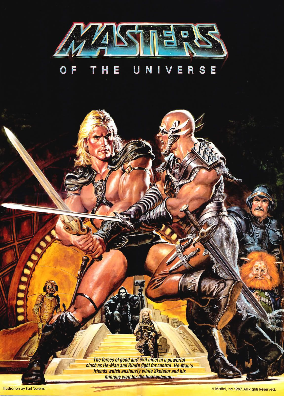 Masters of the Universe by Earl Norem