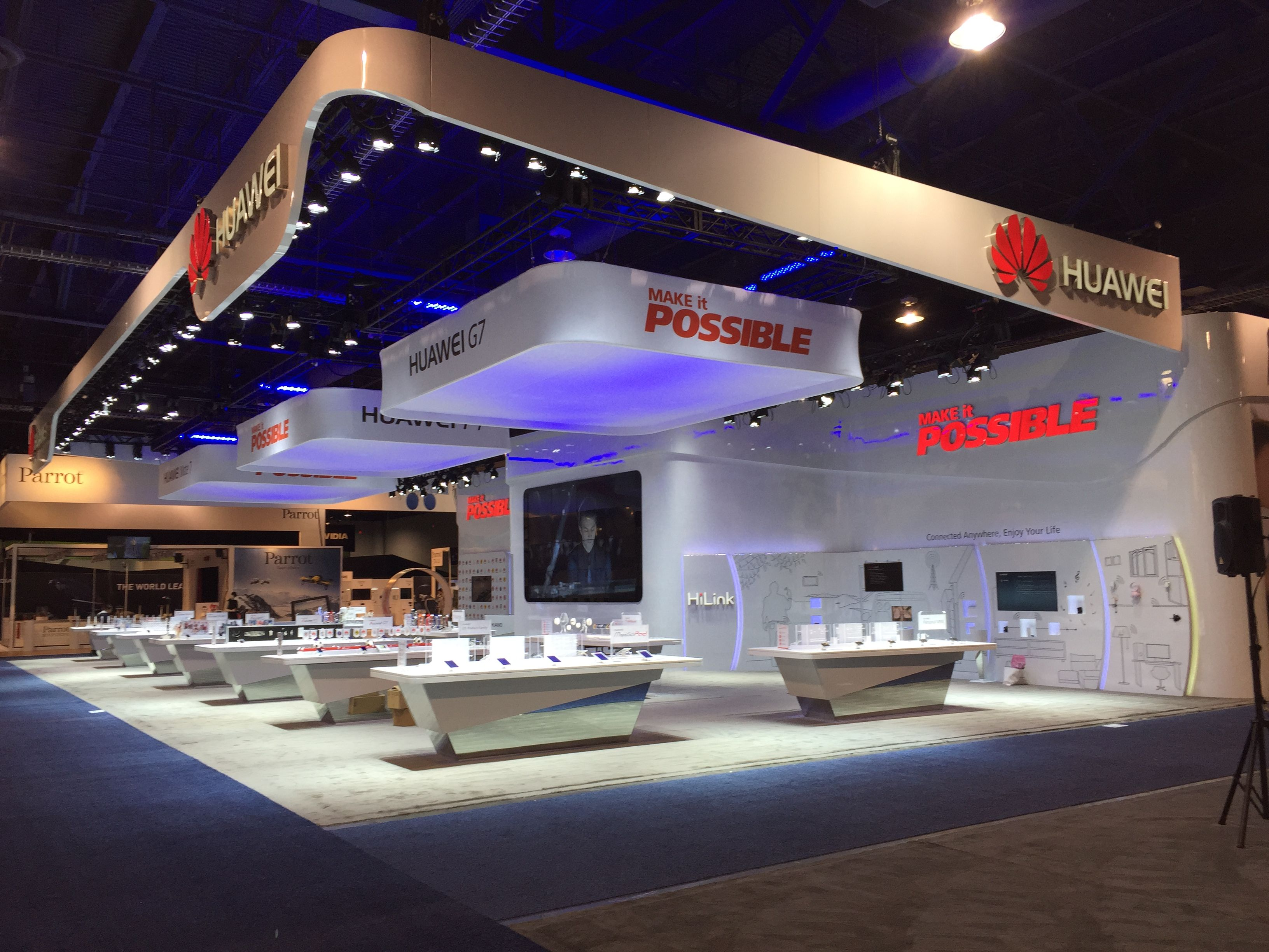 Huawei At CES2015 And MWC 2015 Achieved Momentous