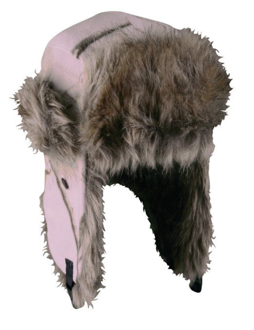 be1e11d1e715a Amazon.com  Outdoor Cap Women s Fleece Cold Weather Trapper with Faux Fur