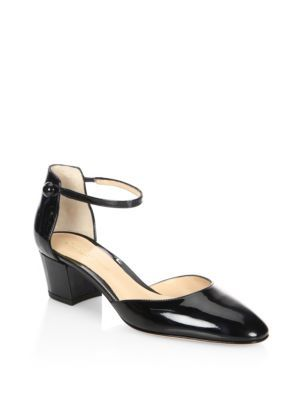 Gianvito Rossi Patent Leather D'Orsay Pumps