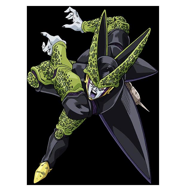 Perfect Cell Render 2 Sdbh World Mission By Maxiuchiha22 Dragon Ball Artwork Dragon Ball Super Goku Dragon Ball Z