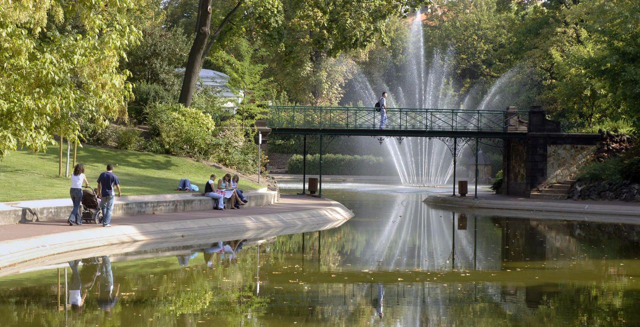 Jardin lecoq clermont ferrand puy de dome la for Jardin lecoq