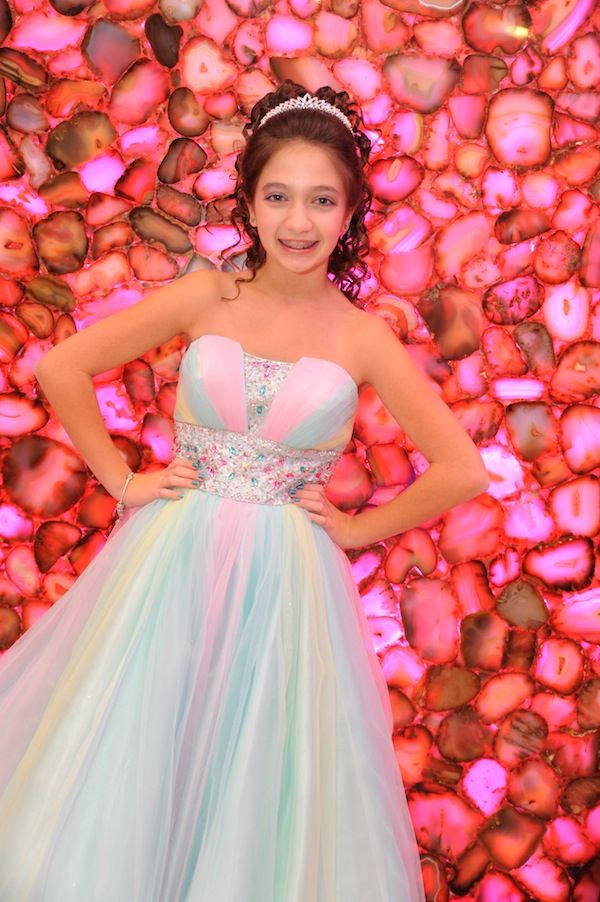 Pastel Bat Mitzvah Dress {Cupcake Theme Decor: Total Party ...
