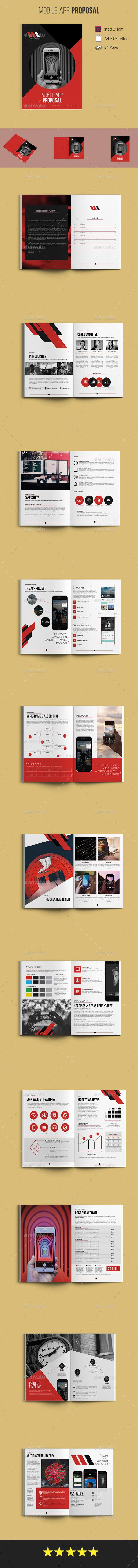Mobile App Proposal | Proposal templates, Proposals and Mobile app