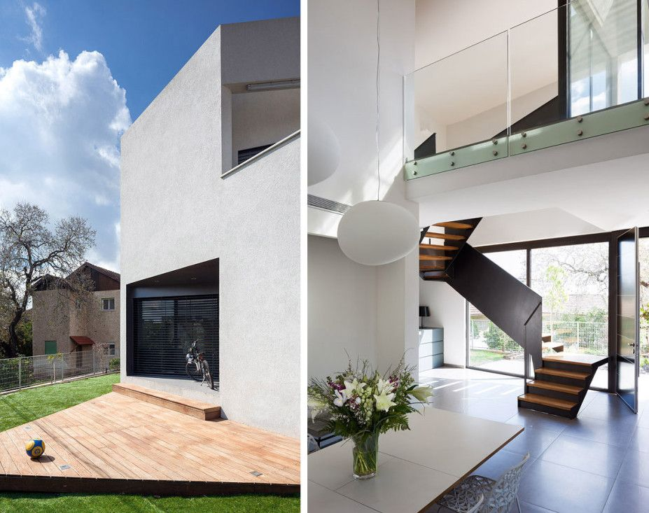 Architecture Design, Single Ball Terrace Wo House 12 Wooden Floor ...