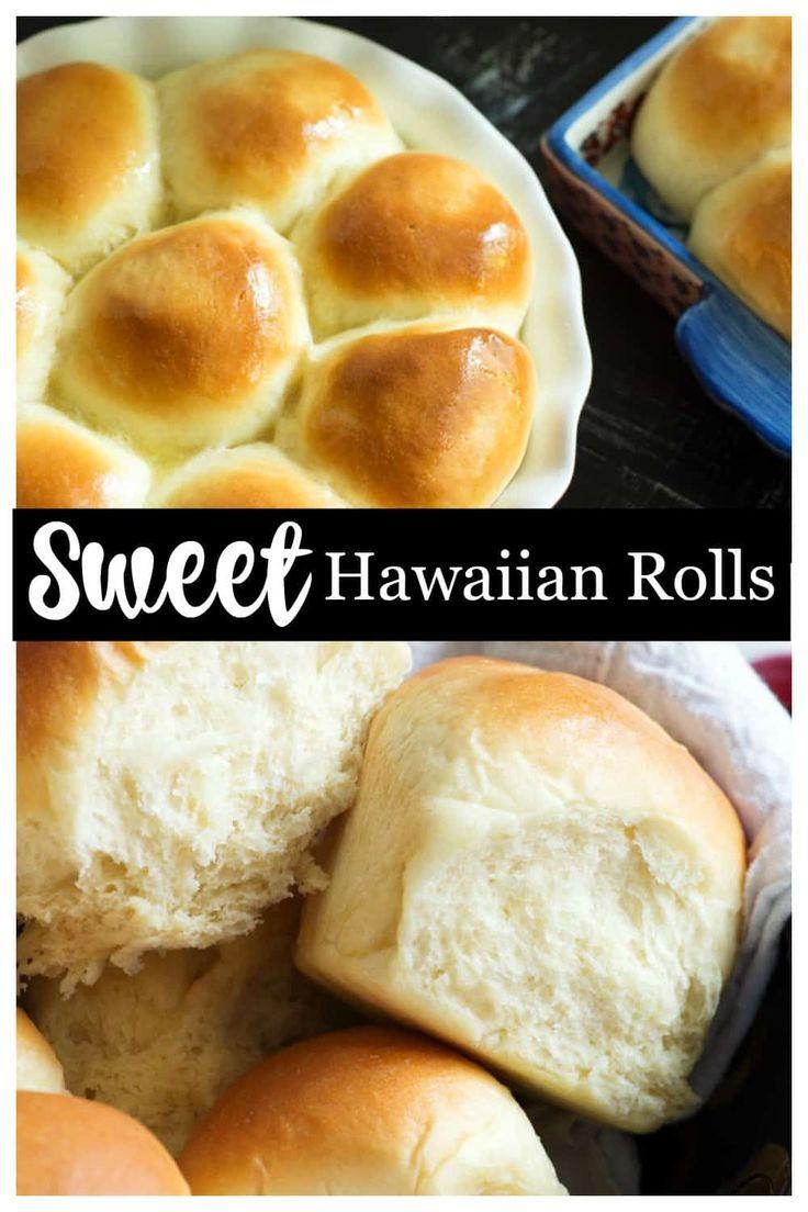 Hawaiian Rolls #hawaiianfoodrecipes