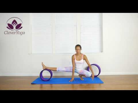 yoga with the wheel in 2020 with images  wheel pose