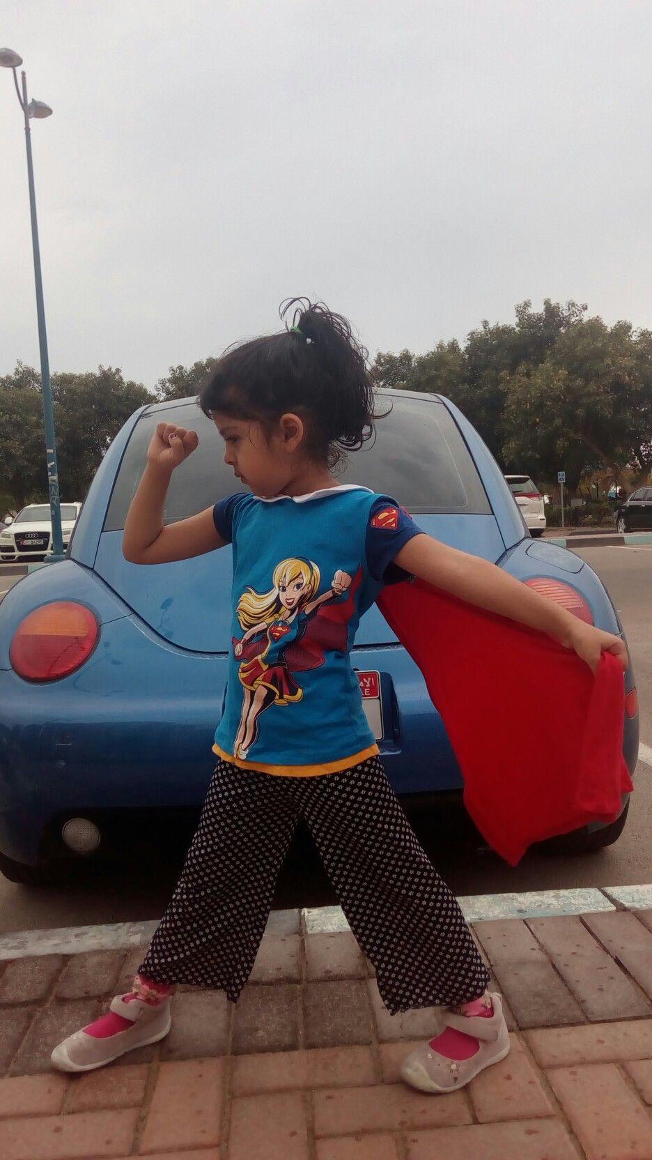 cute poses super hero supergirl