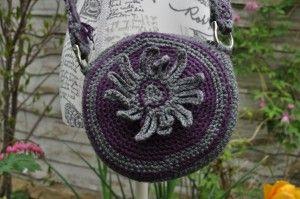 Circular Crochet Bag