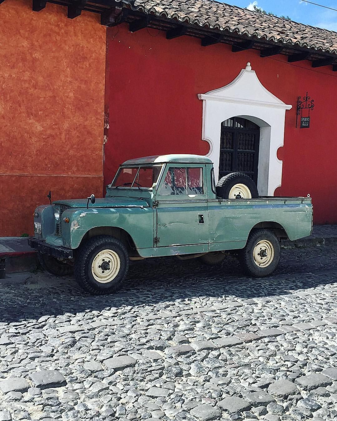 Serie 2a Pick Up Guatemala Range Rover Land Rover Pinterest