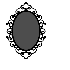 Jenny S Crafty Creations Swirly Oval Frame Oval Picture Frames Oval Frame Frame Clipart