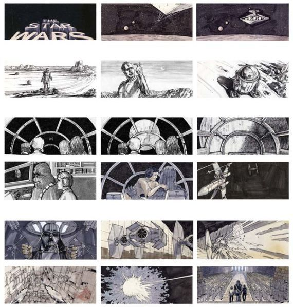 storyboards-from-famous-movies Film Storyboards Pinterest - film storyboards