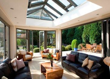 Modern and Contemporary Bespoke Glass Extensions Interiors and