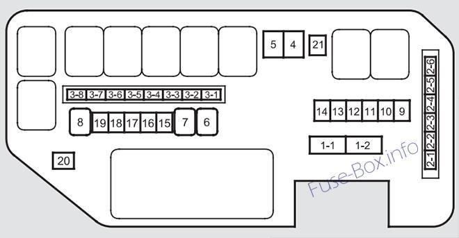 Fuse Box In Acura Tl | Wiring Diagram Acura Tl Fuse Box Diagram Image Details on