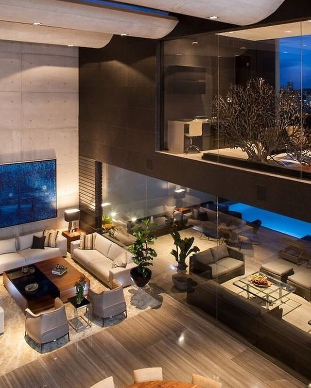 Luxury Modern Mansion Interior: Contemporary Luxury Home Interior …
