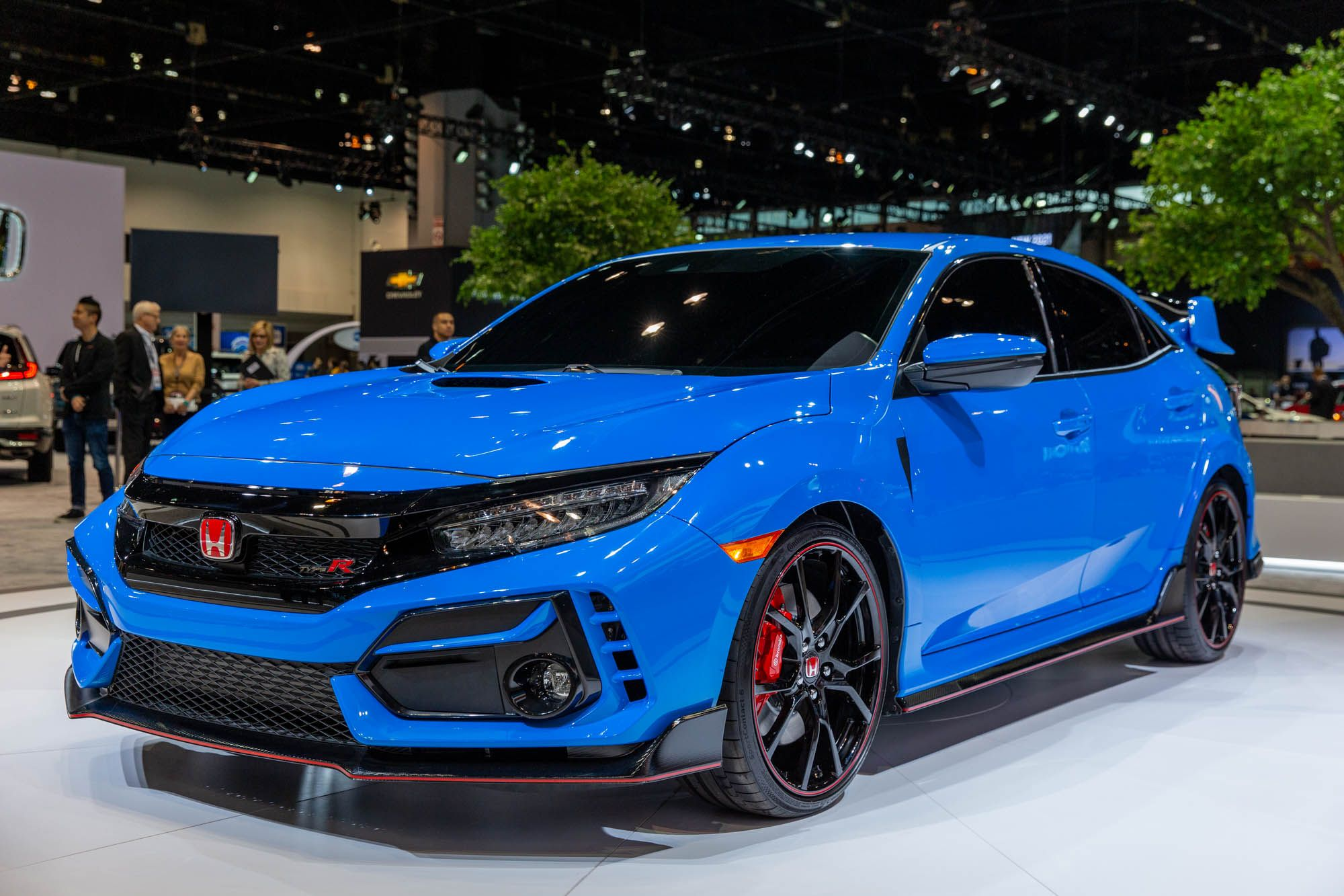 The refreshed 2020 Honda Civic Type R hot hatchback gets a