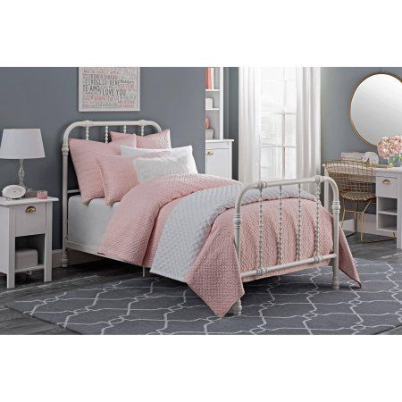Dhp Jenny Lind Twin Size Metal Bed White Walmart Com
