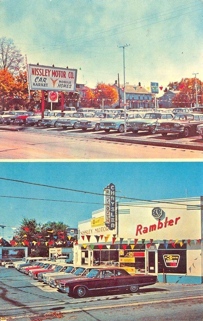 Nissley Motor Co Chrysler Plymouth Rambler Dealership Middletown Pennsylvania Used Car Lots Car Dealership Used Cars