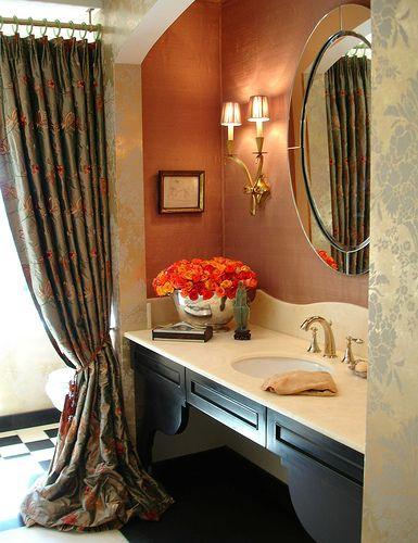 les 25 meilleures id es de la cat gorie salle de bain f minine sur pinterest salle de bains. Black Bedroom Furniture Sets. Home Design Ideas