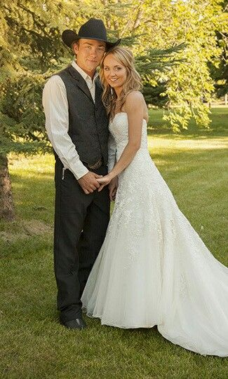 Amber Marshall with enchanting, Husband Shawn Turner