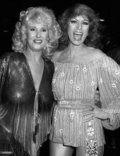 LOS ANGELES CA  APRIL 30 Tammy Wynette and Dottie West attend 16th Annual Academy of Country Music Awards on April 30 1981 at the Shrine Auditorium in Los Angeles Califor...