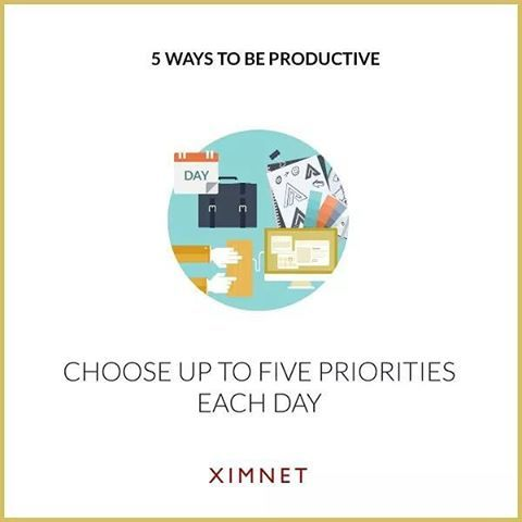 """Tip 4: Choose Up To Five Priorities Each Day  Multitasking is another thing which can greatly decrease your productivity. The best way to avoid it is to choose only five priorities each day and stick to them strictly. This will make you a proactive person — you won't be distracted by 100 other """"urgent"""" things.  #success #habit #attitude #productivity #prioritt #positivevibes"""