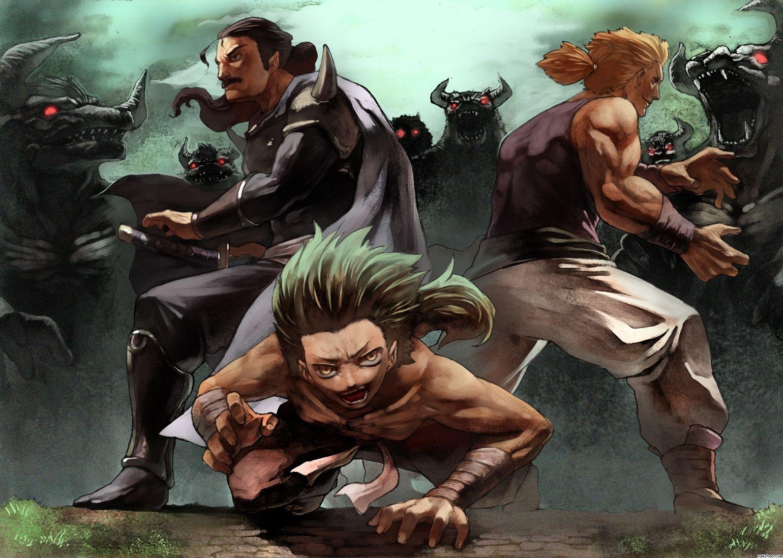 Cyan Gau And Sabin Ff Vi Final Fantasy 6 Pinterest Final