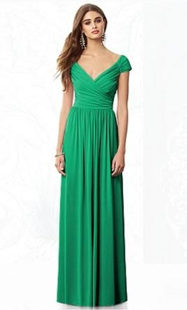 After Six 6697  -  Size 14  -  Color Pantone Emerald 14