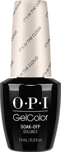 Opi White Gel Nail Polish: OPI GelColor - It's In The Cloud 0.5 Oz - #GCT71