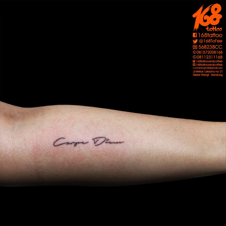 Simple Lettering For Carpe Diem Tattoo My Tattoo Artwork Tattoos