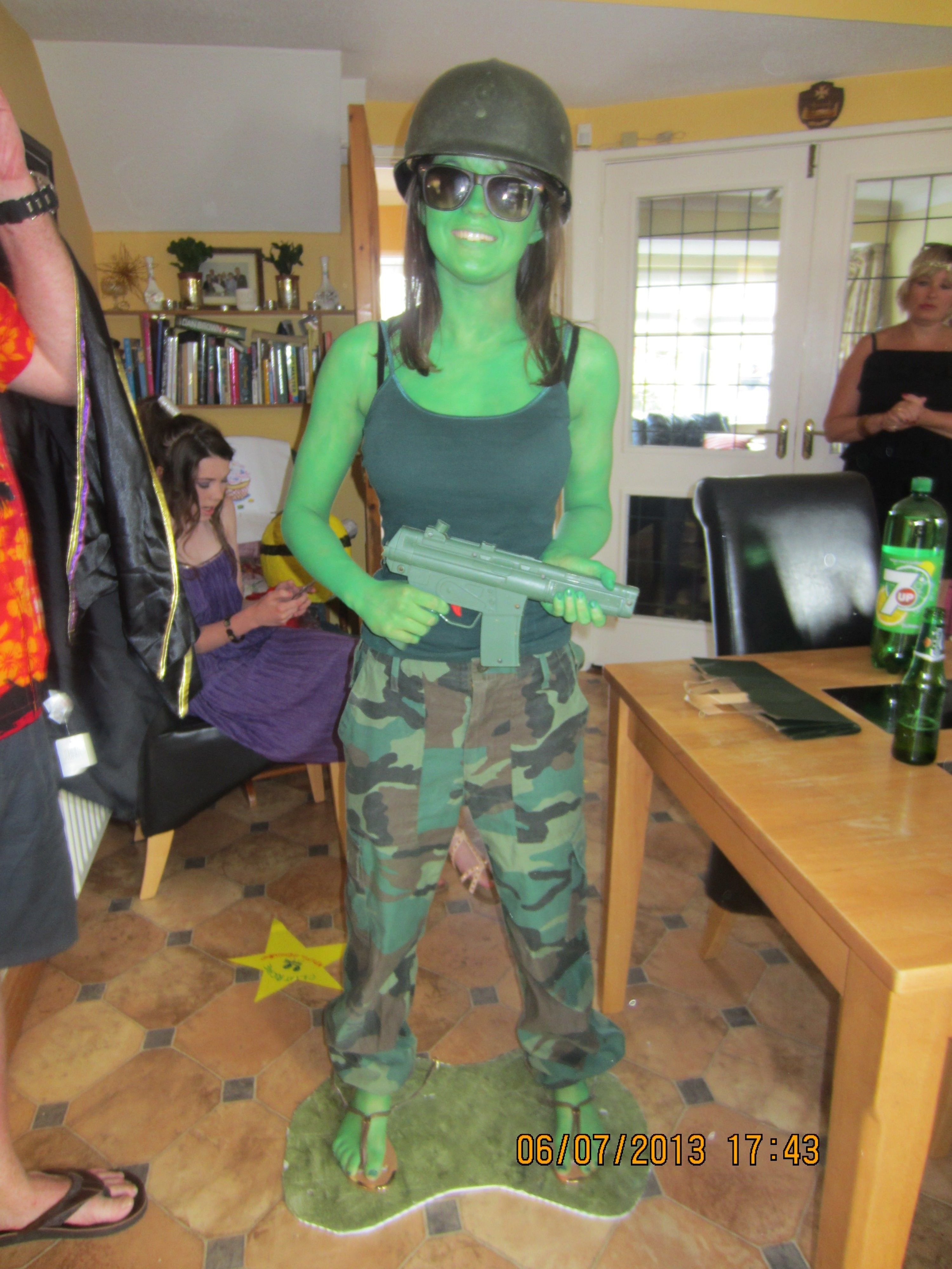 Toy Story Soldier Costume | Costumes | Pinterest | Toy story ...