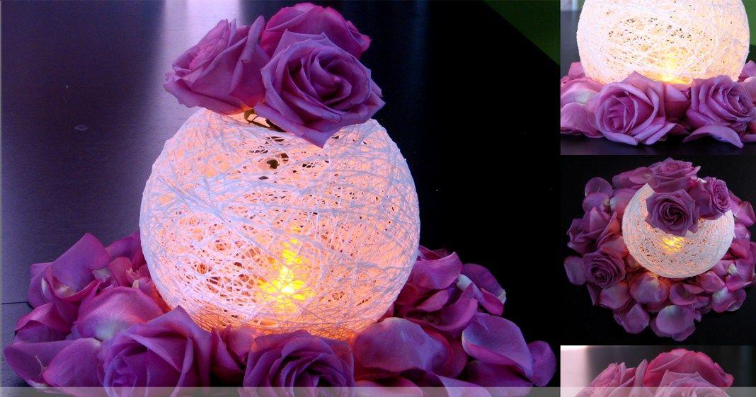 Lindas esferas de hilo para decorar tus fiestas | 15 primaveras ...