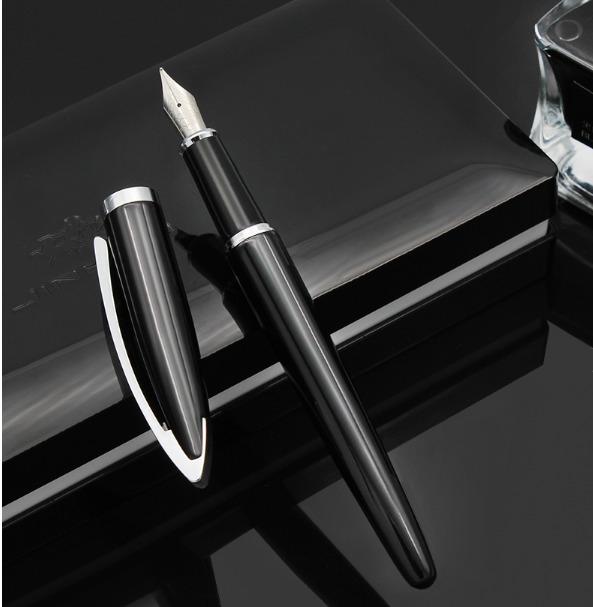 Jinhao 156A Fountain Pen Fine Nib Black