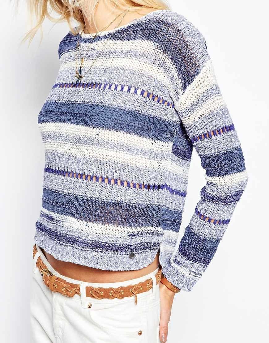 Image 3 of Pepe Jeans Stripe Knit Top. TejidoTejido RayadoPepe ... b0f6c337ab26