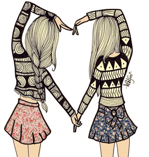 Best Friends Forever and Ever | Amigos, Amigos para siempre y ...