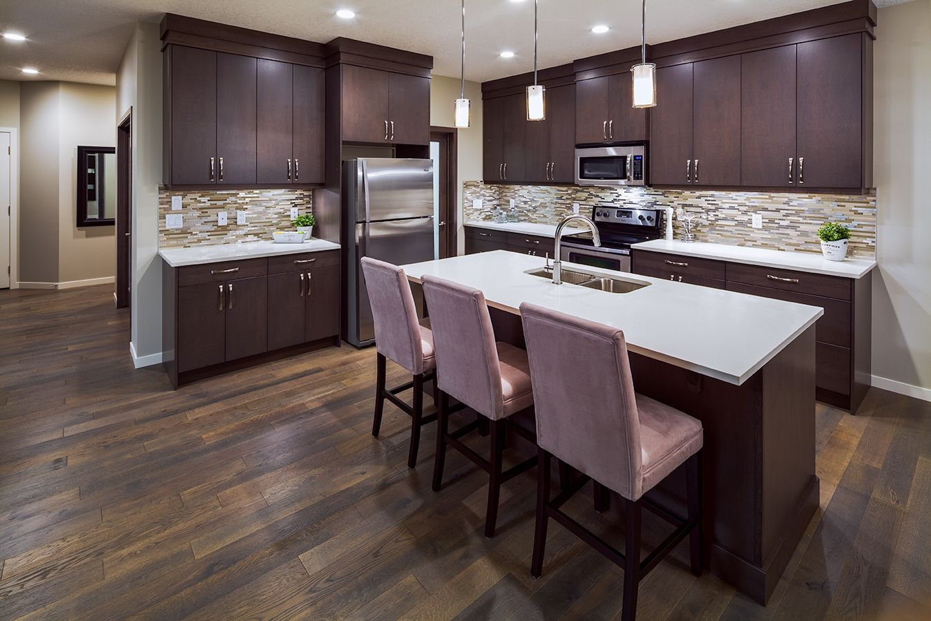 Showhome at 252 auburn bay drive se calgary ab photo by for Ak kitchen cabinets calgary