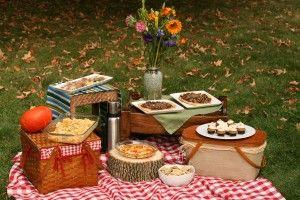 Organizing an Autumn Family Picnic #familypicnicfoods