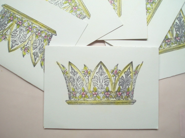 Queen Mary Invitation. $8.50, via Etsy.