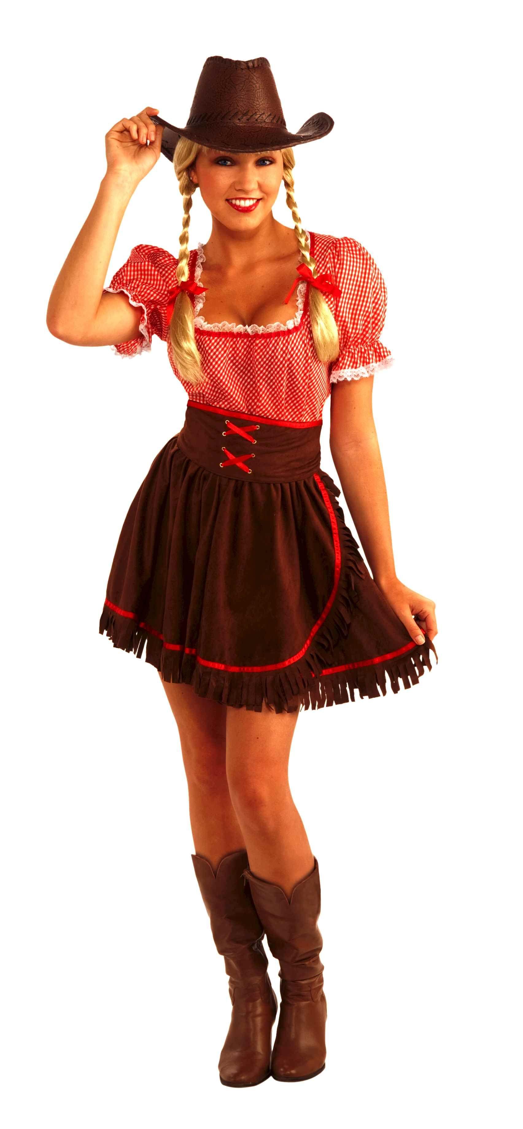 Home ladies costumes rodeo gal costume - Western Square Dancing Cowpoke Cutie Dress Costume