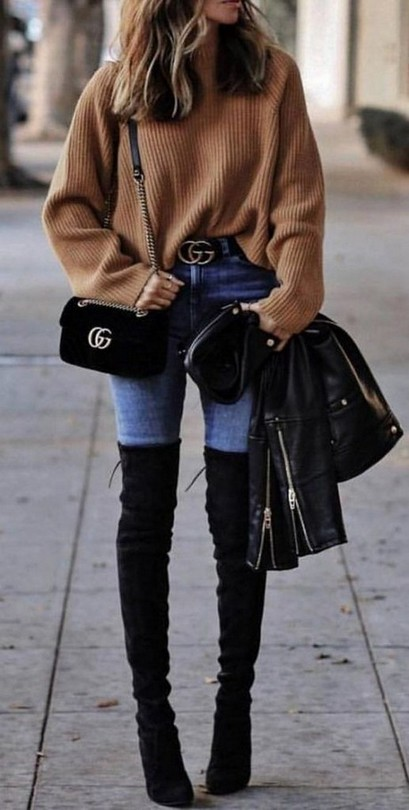 ✔44+ Best Ideas Outfits For Winter to Make You Look More Fashionable #winteroutfitscold