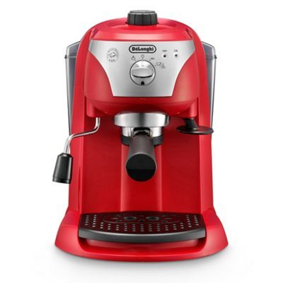 Delonghi Red Motivo Traditional Pump Espresso Machine