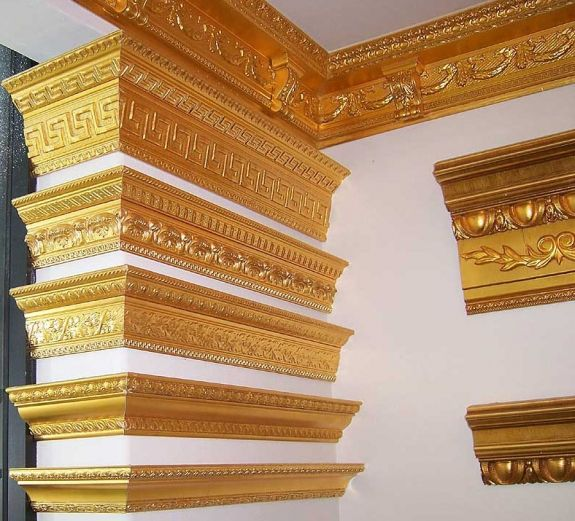 Ceiling Moldings In Metal Finish Google Search Bronze