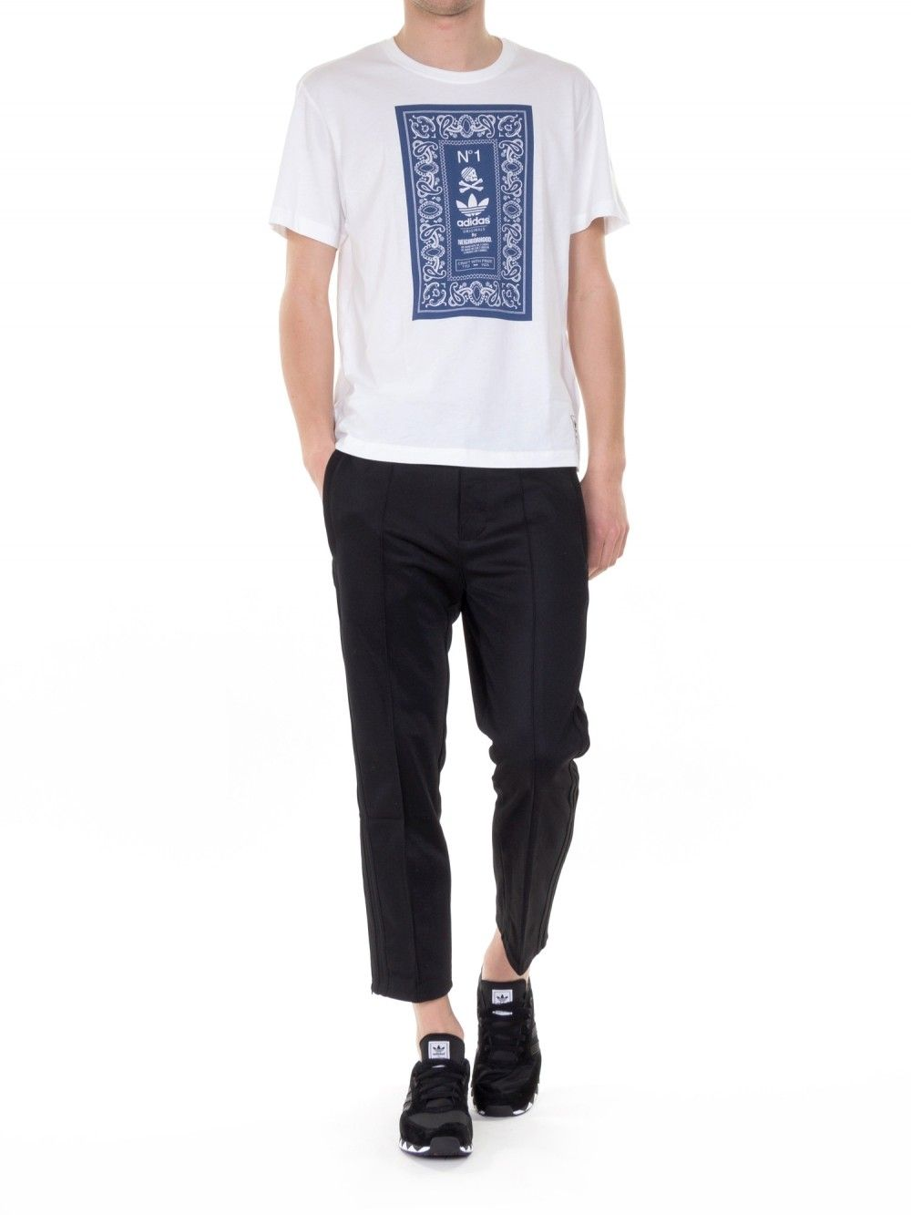 2a64350b7141 ADIDAS ORIGINALS X NEIGHBORHOOD Tailored Cropped Pants   STYLE - His ...