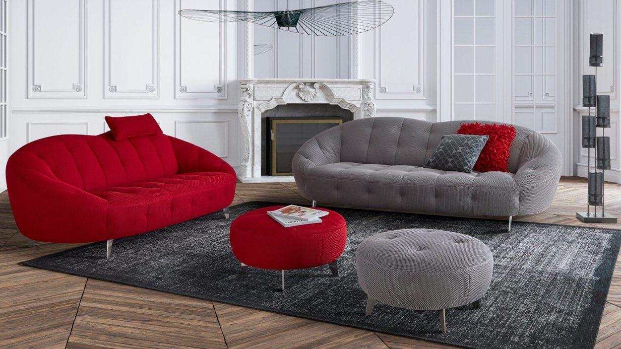 Canape Pulp L Alliance Parfaite Entre La Modernite Et Le Confort Existe Dans D Autres Coloris Canape Design Canape Contemporain Decoration Design